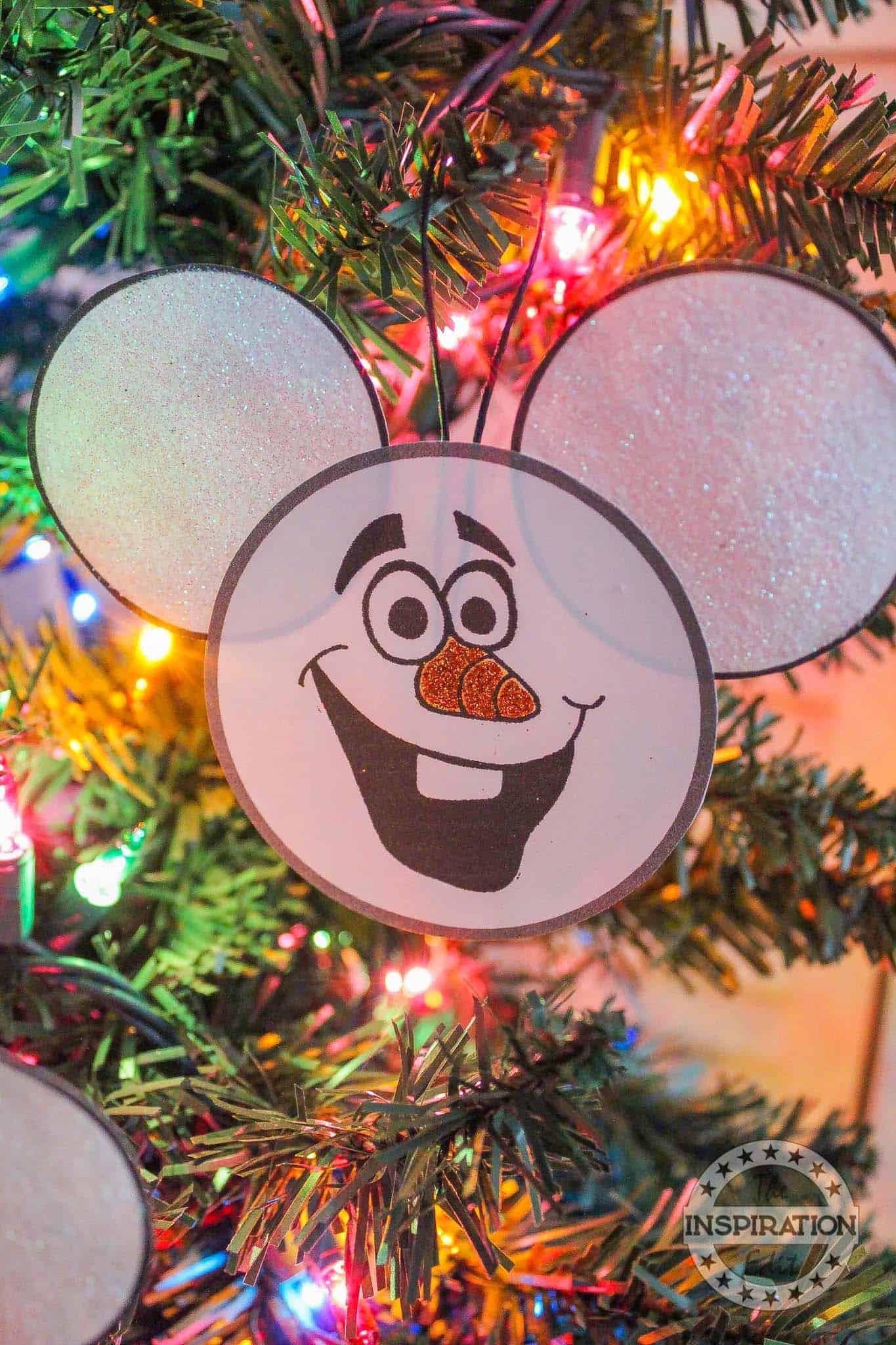 Disney Elsa Christmas Ornament