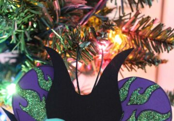 maleficent christmas decoration