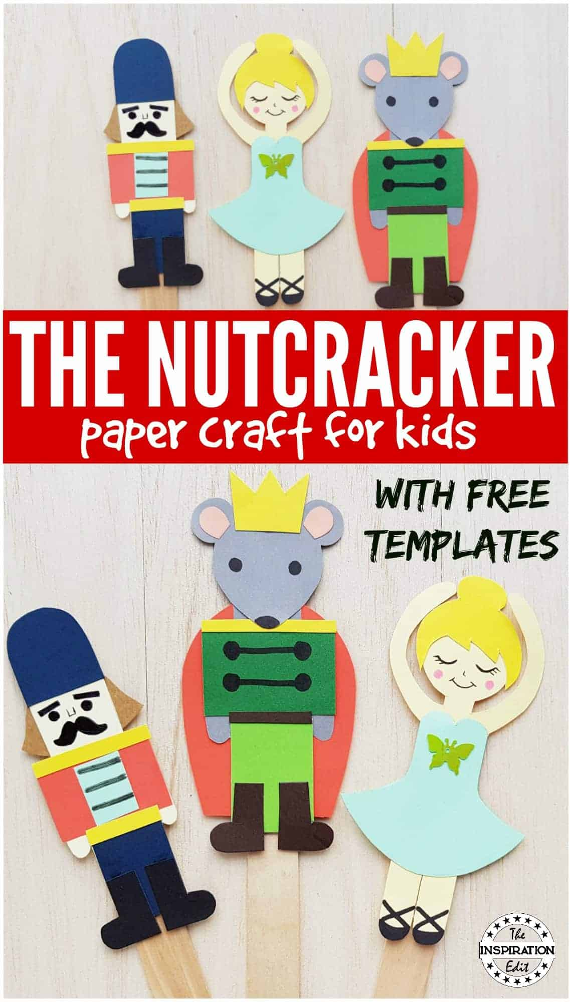 NUTCRACKER paper craft