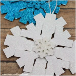 snowflake craft idea