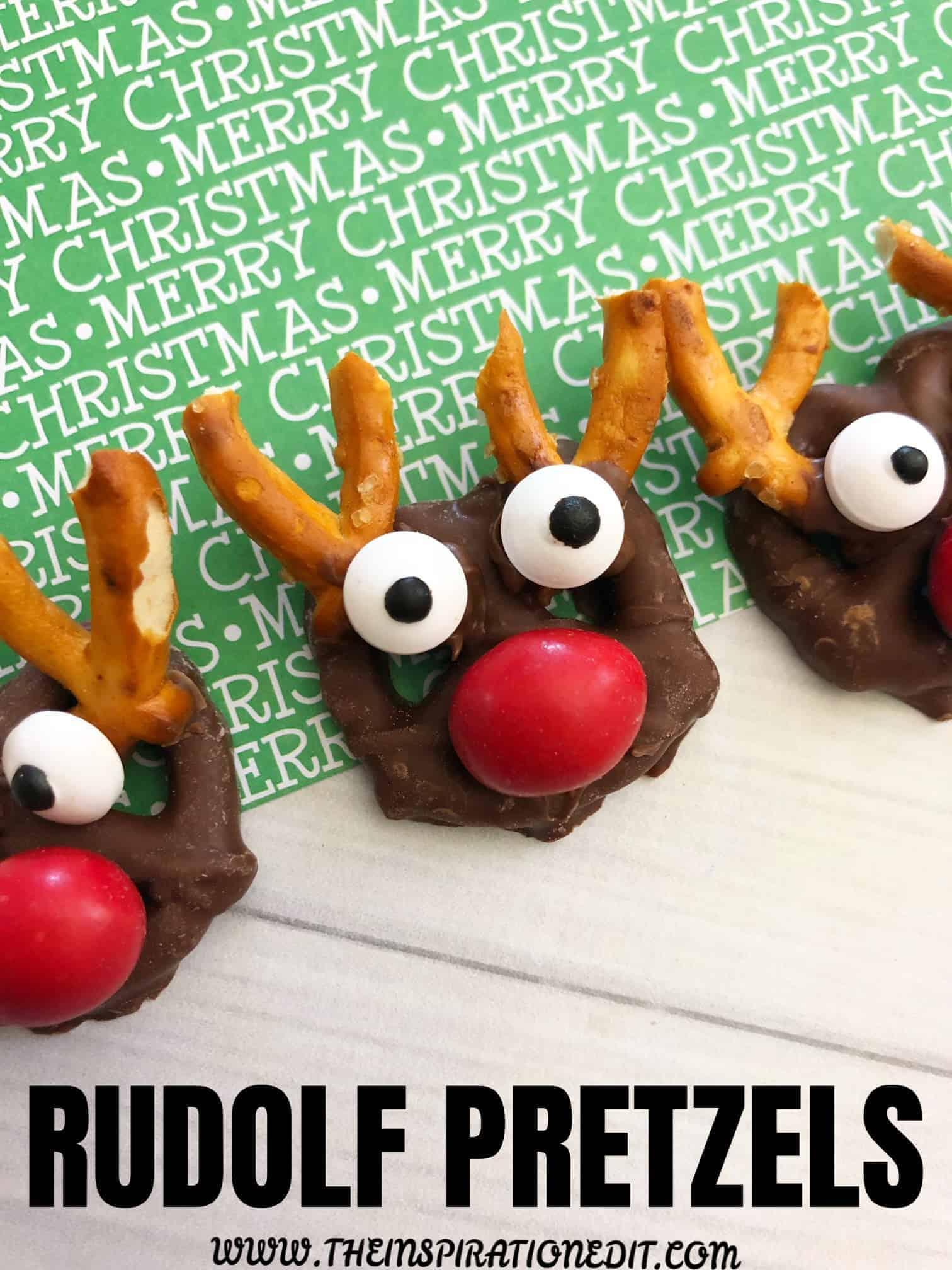 Rudolf Pretzel bites