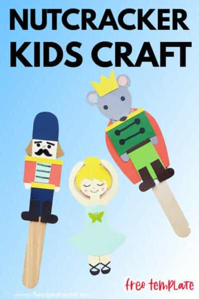 nutcracker craft with free template