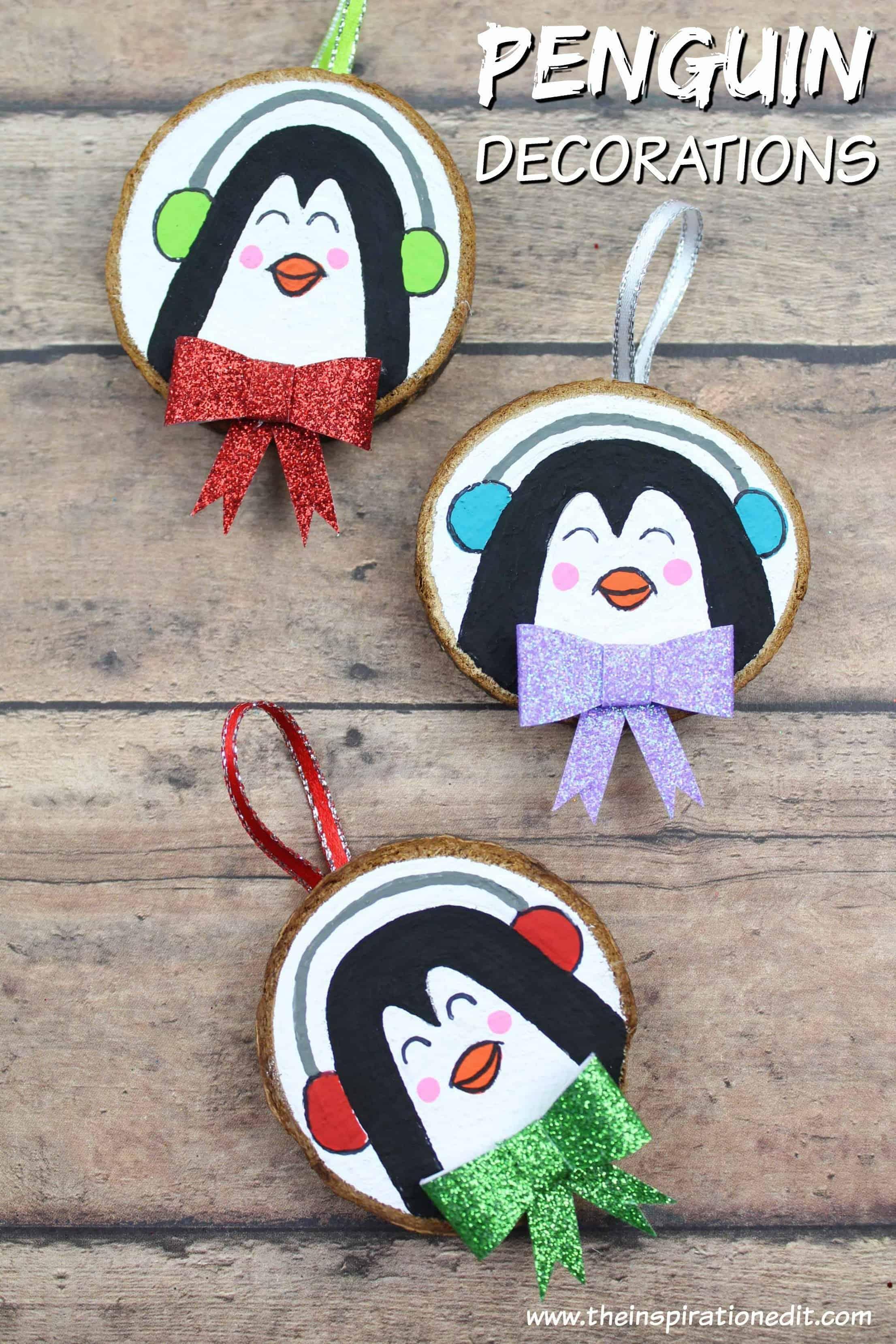 DIY Penguin Decoration