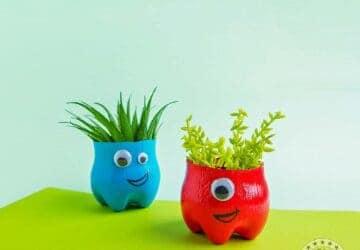 DIY Monster Planters