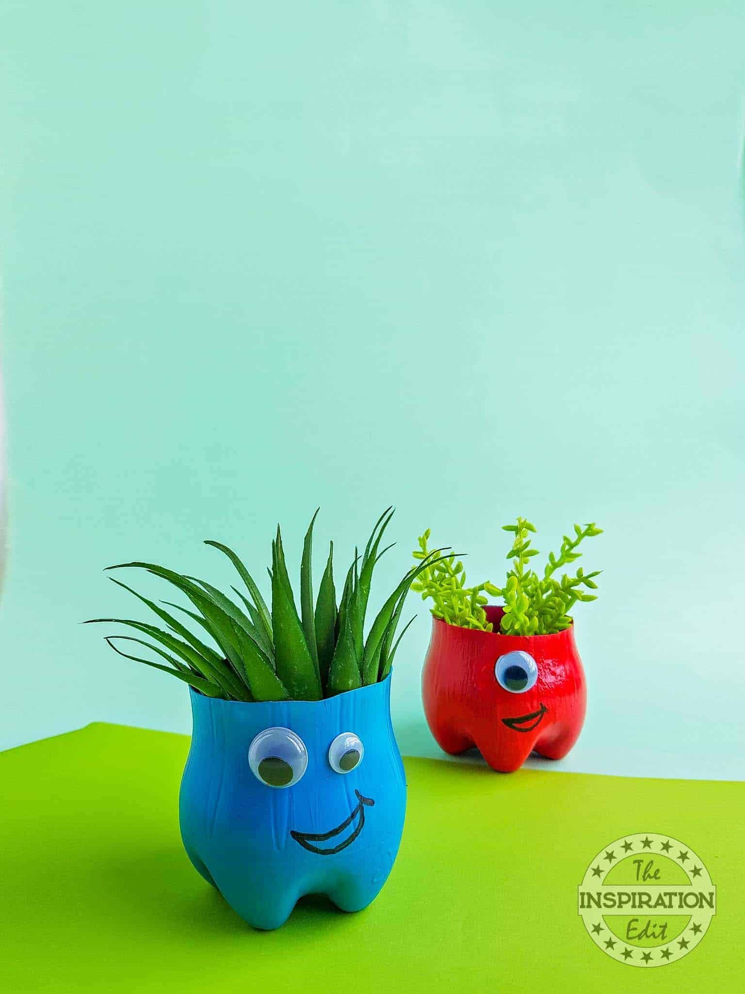DIY Monster Planters