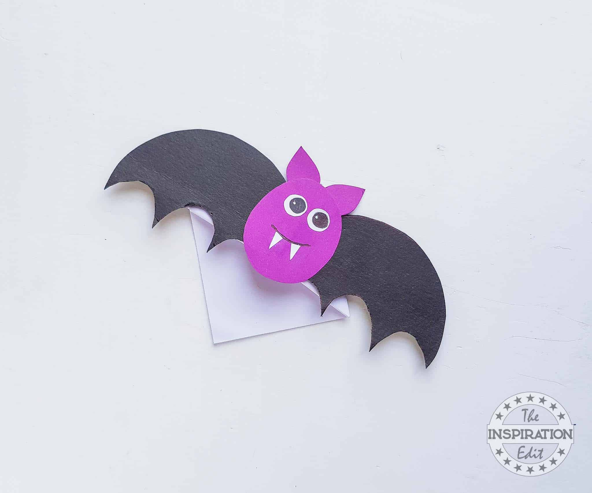 Bat Corner Bookmark