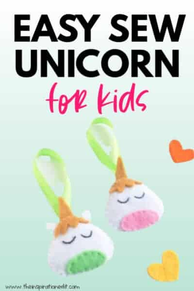 unicorn sewing project for kids