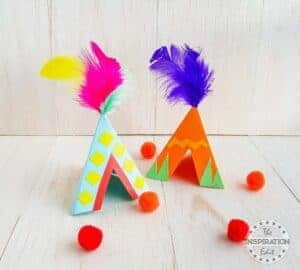 tipi craft for kids