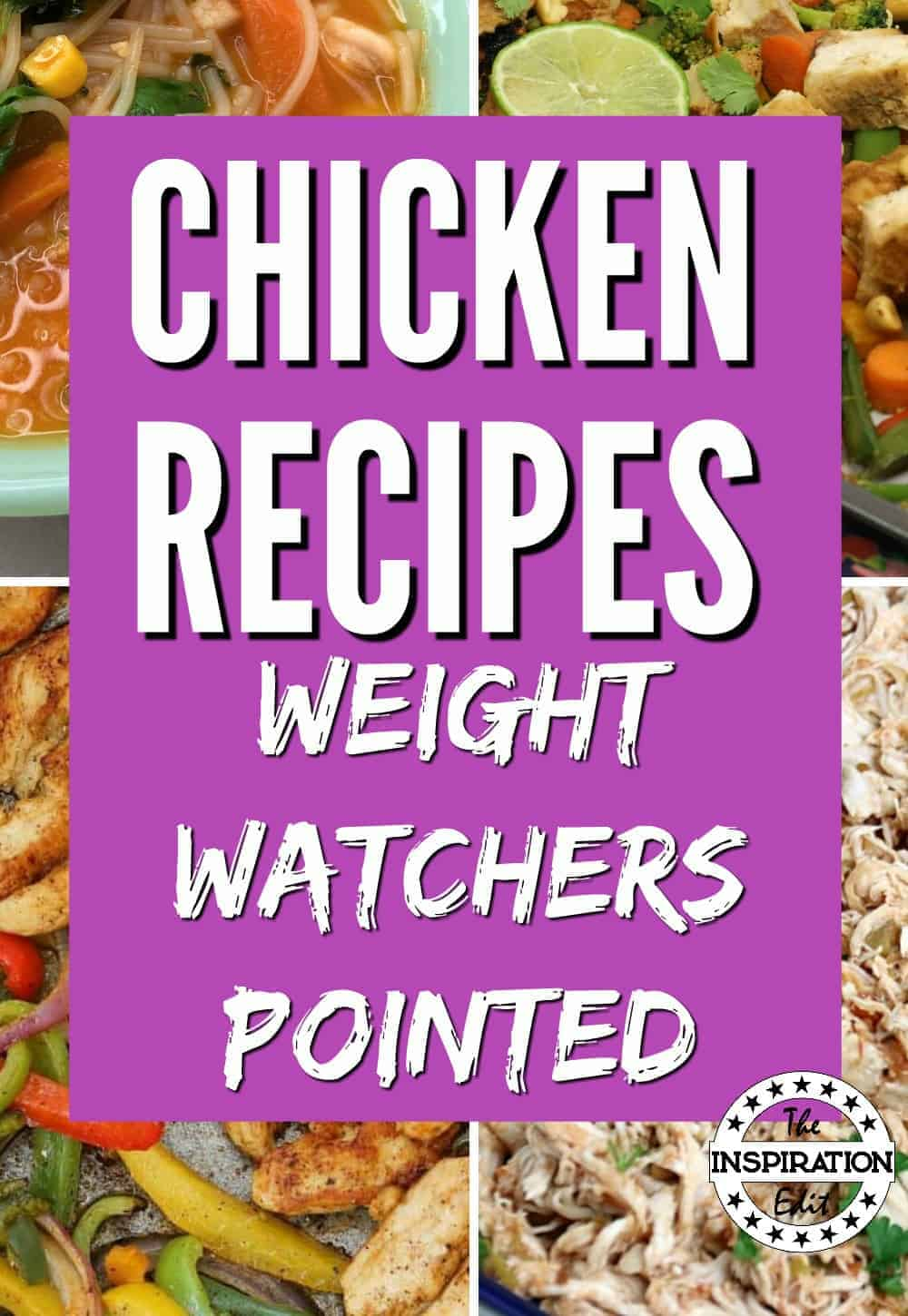 EASY WEIGHT WATCHERS CHICKEN RECIPES