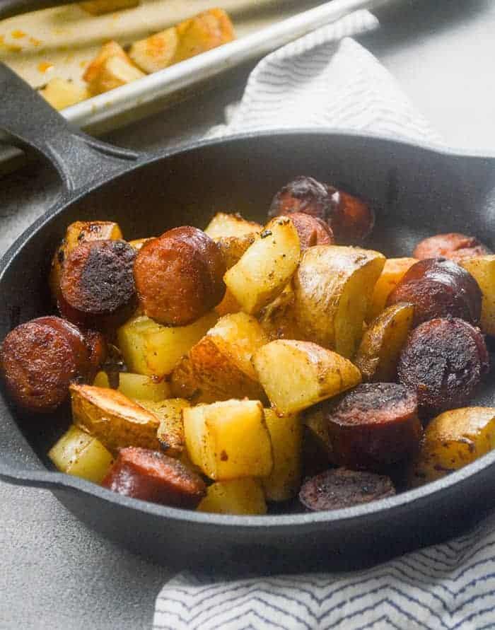 weight watchers sausage and potato