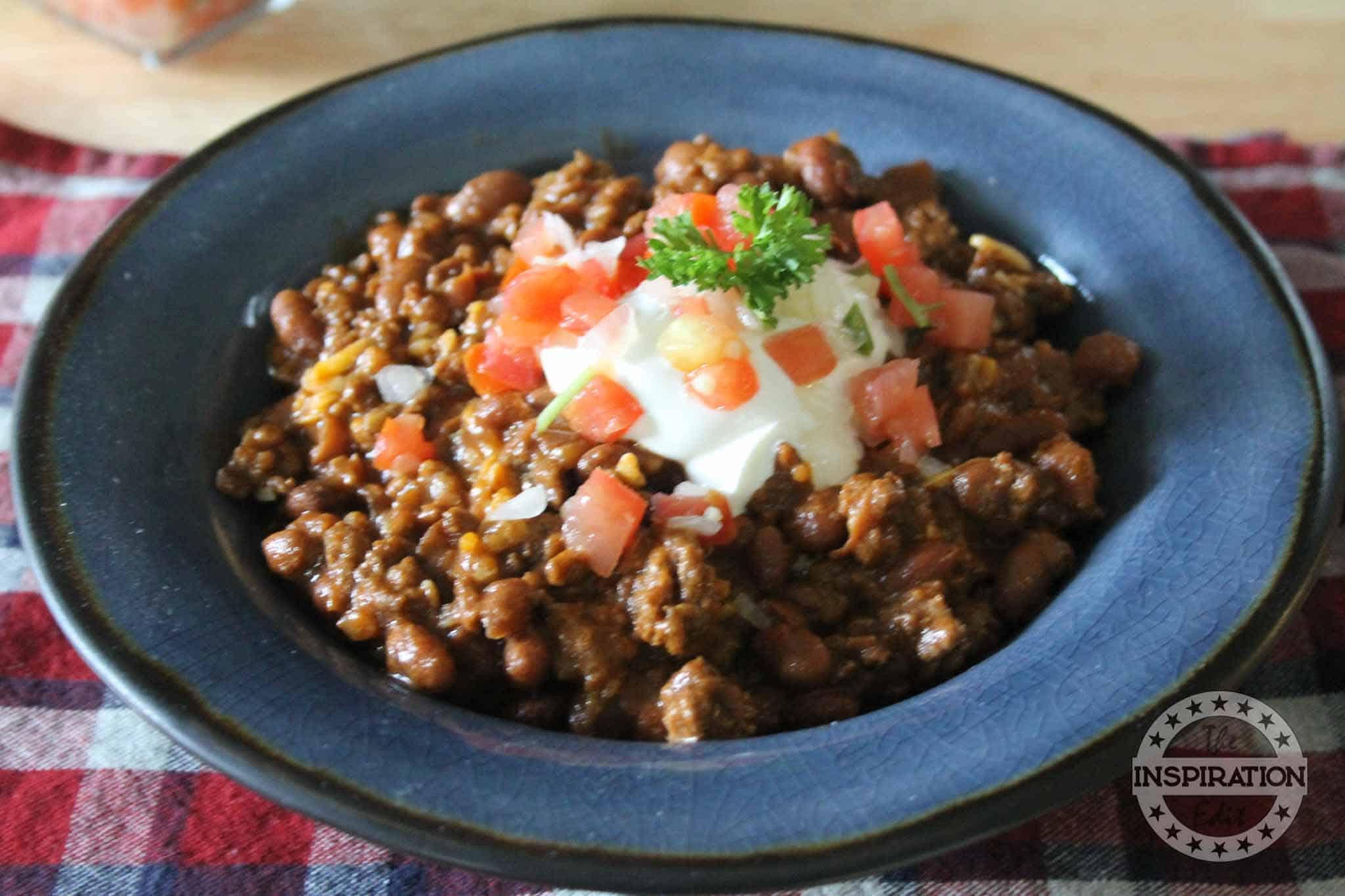 Instant Pot Cowboy Beans