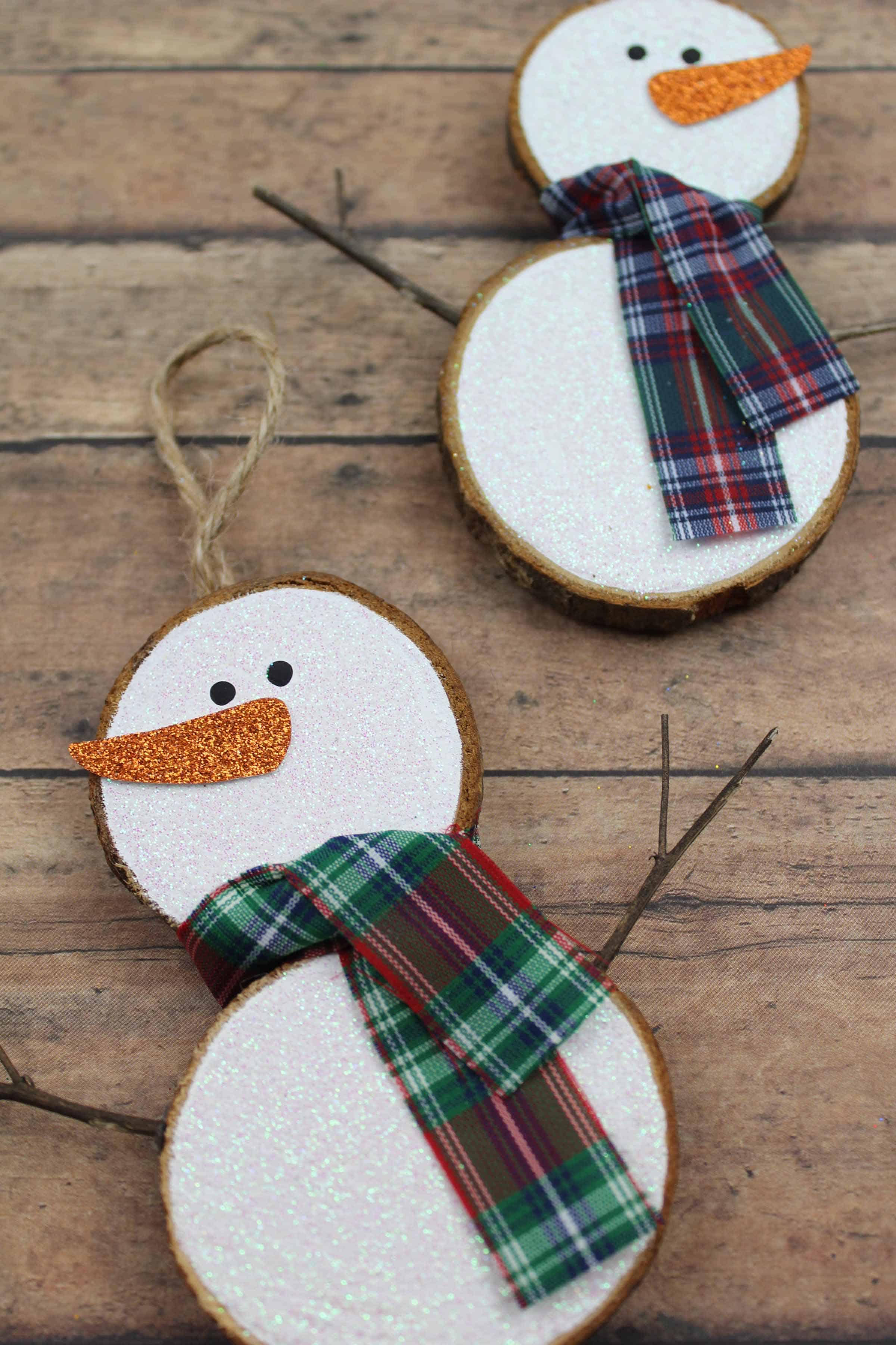 snowman decoration for kids to make