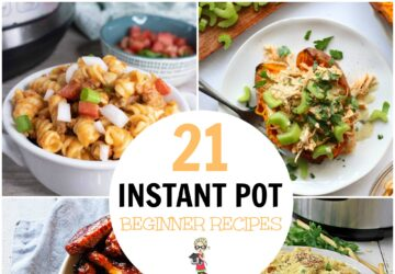 Instant pot beginner recipes a selection of cooked meals from the instant pot