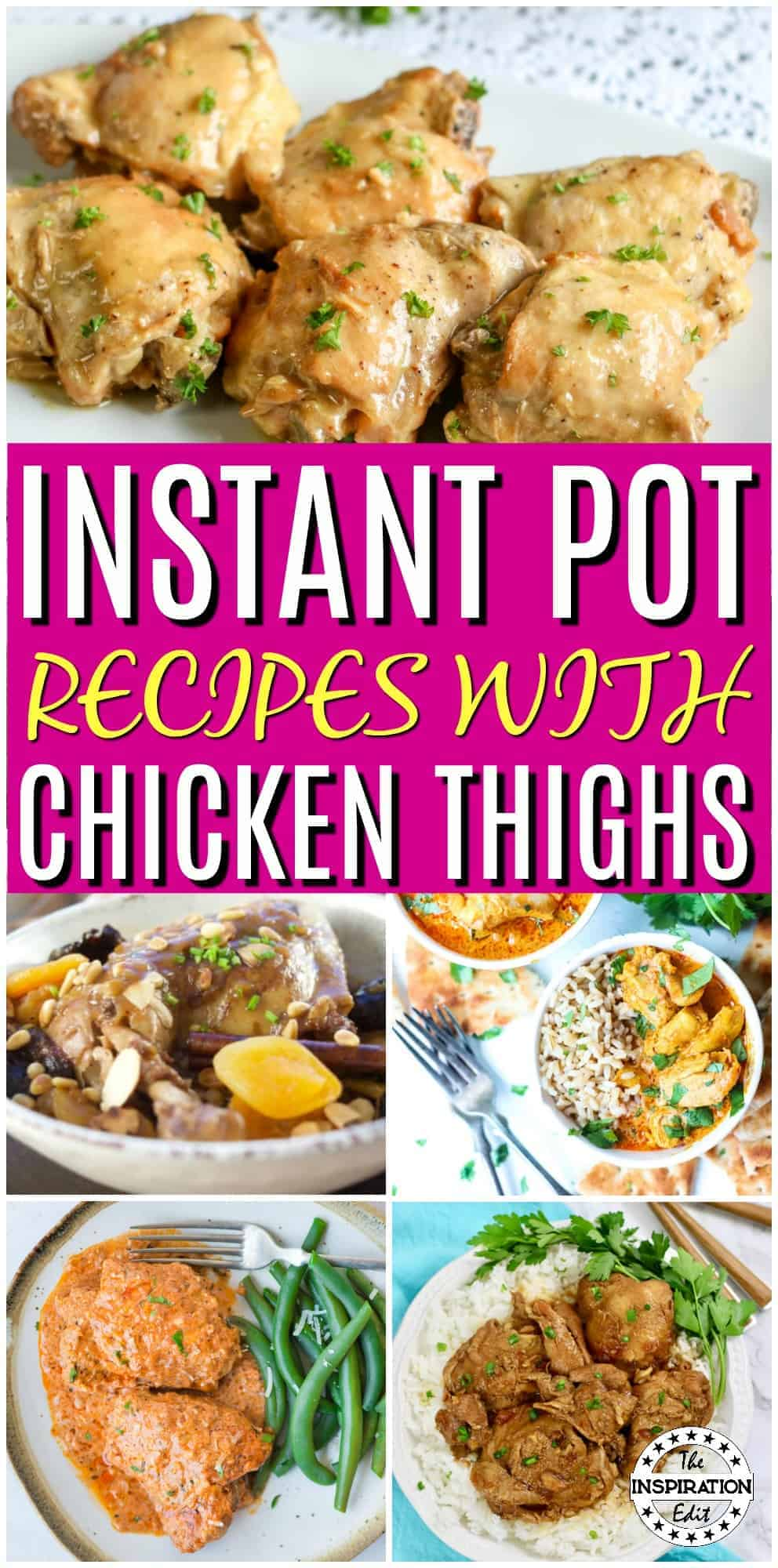 instant pot chicken thigh recipes
