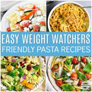 Easy weight watchers pasta recipes