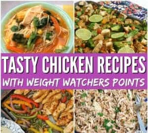 Easy weight watchers chicken recipes that the whole family will love