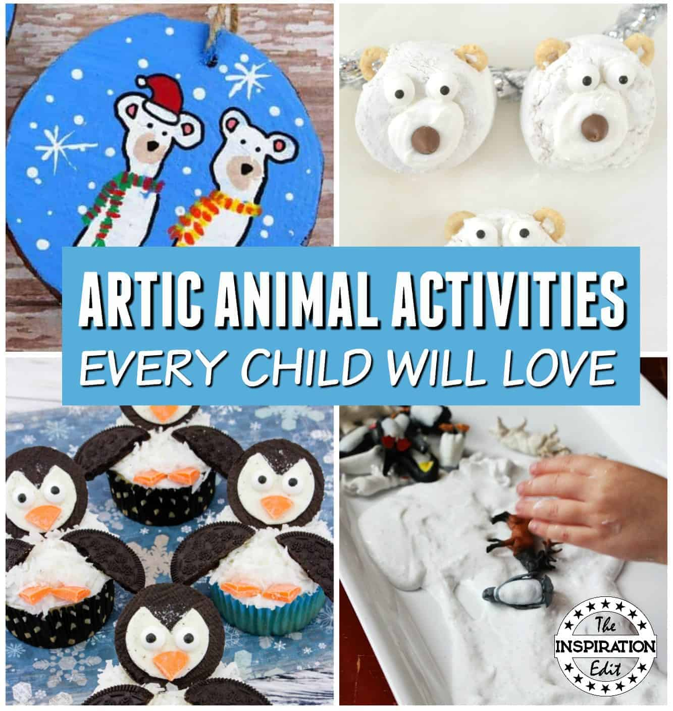 Artic Animal Activities for kids to enjoy