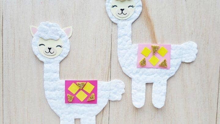 ALPACA craft for kids