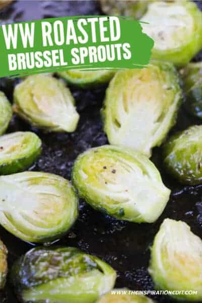 weight watchers roasted sprouts
