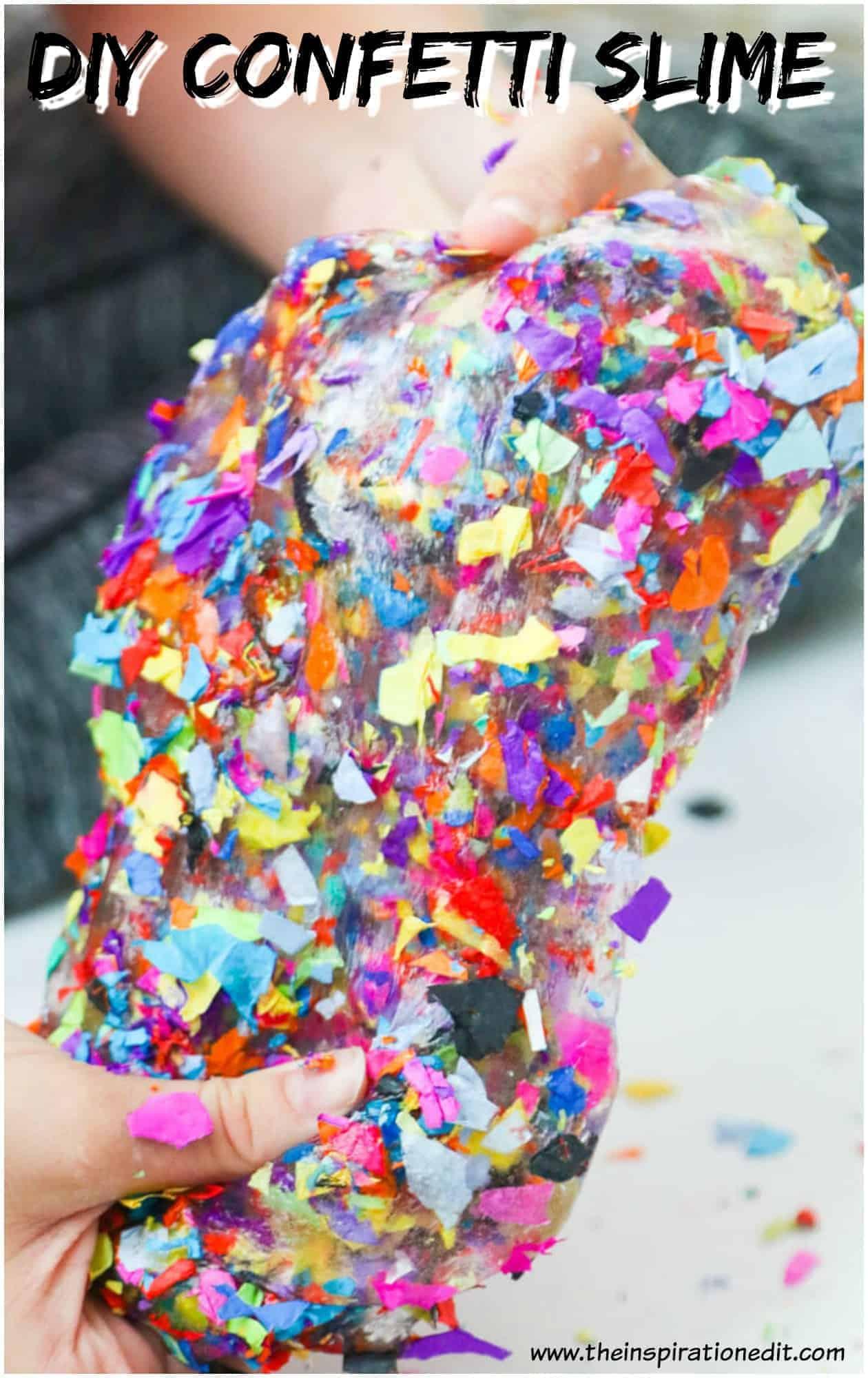 confetti slime