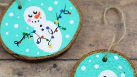 Snowman Ornaments for Christmas