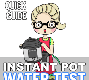 instant pot water test guide