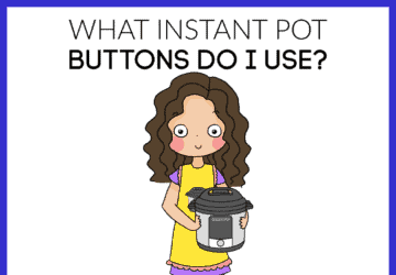 how to use the instant pot buttons