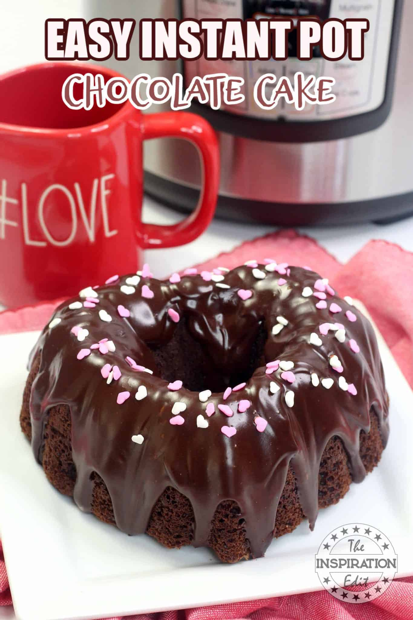 Instant Pot Chocolate Cake
