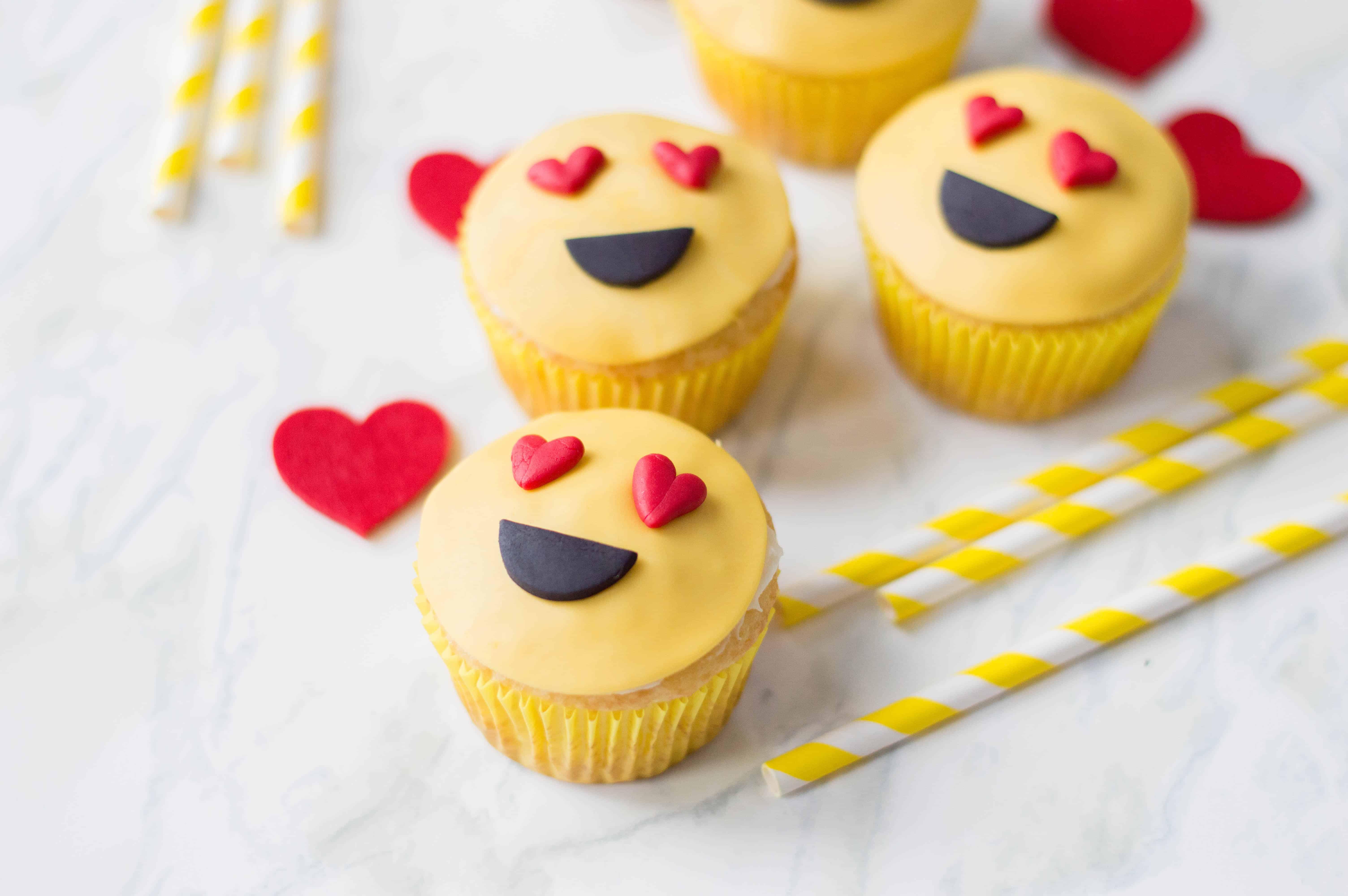 valentines emoji cupcakes recipe