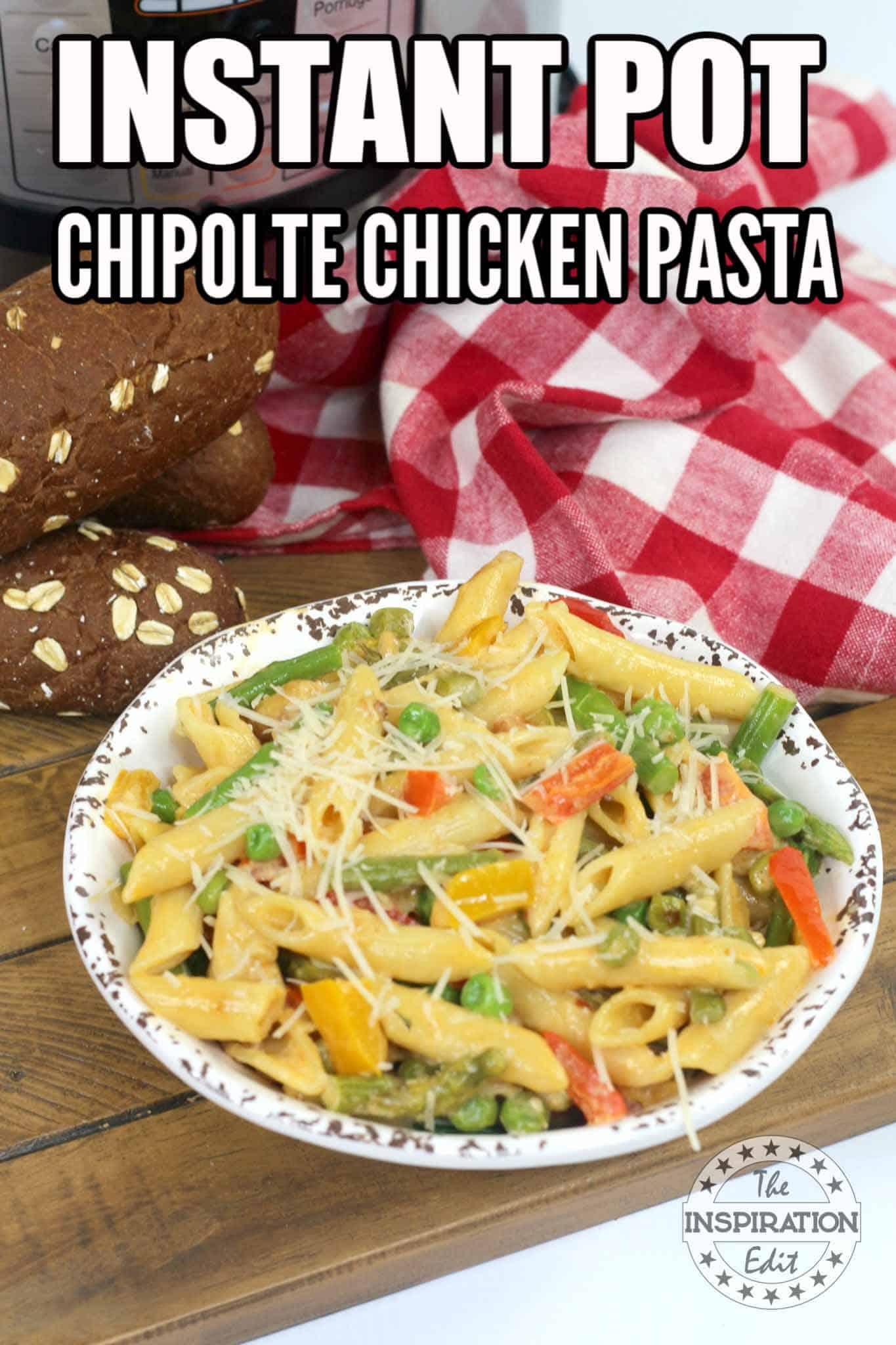 InstantPot Chicken Pasta