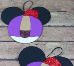 Disney Aladin Craft Ornament with String for Christmas Tree