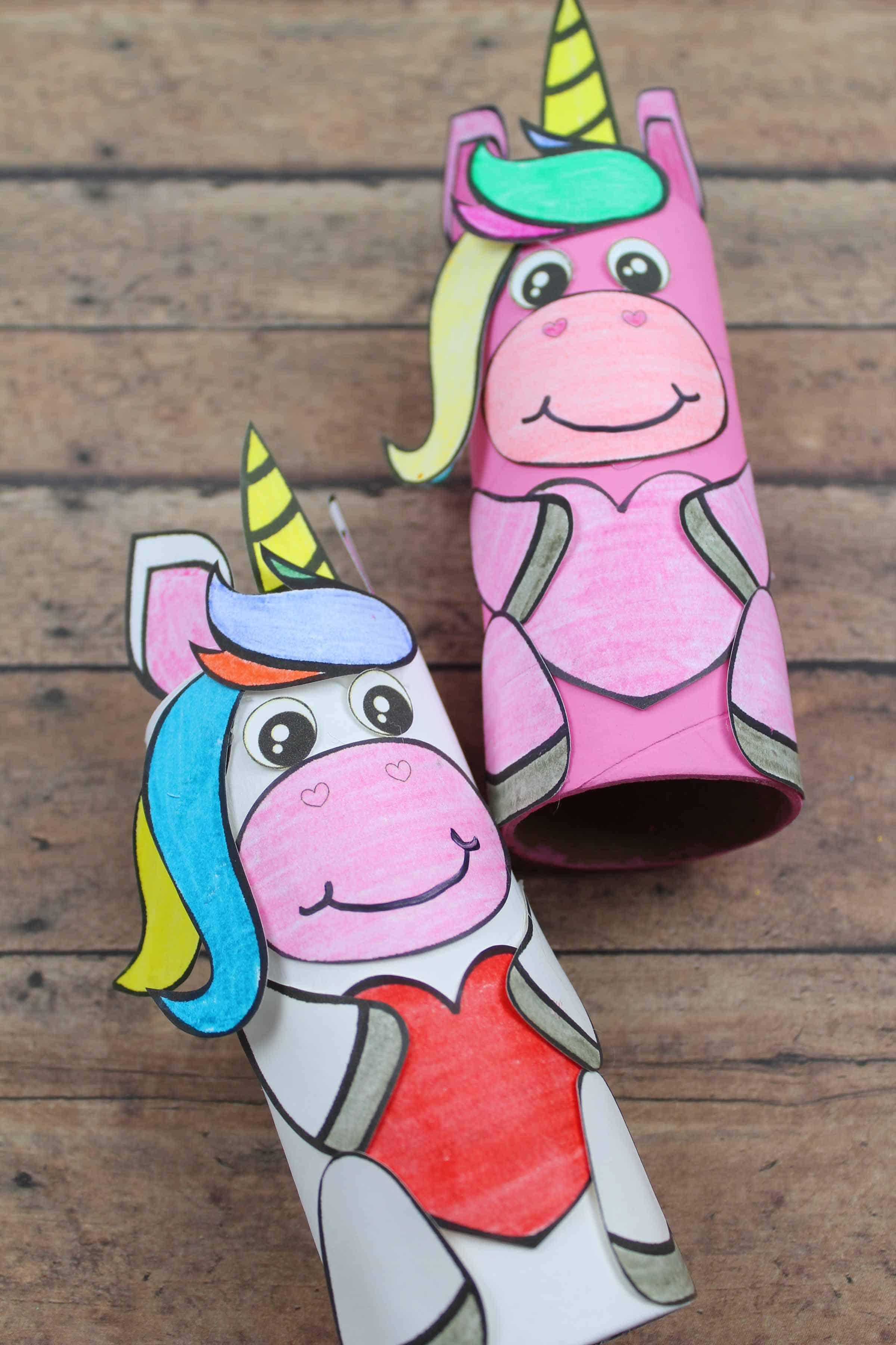 unicorn craft idea for preschool kids