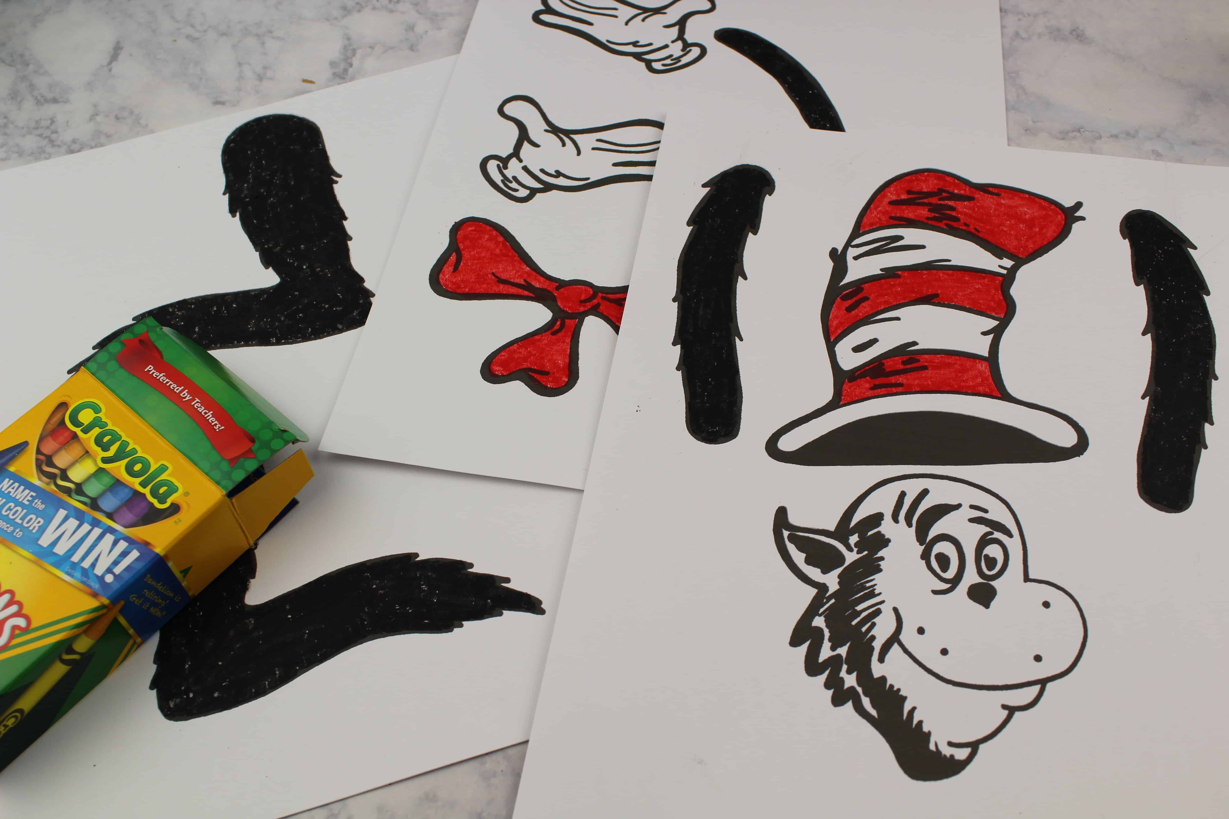 making a dr seuss puppet
