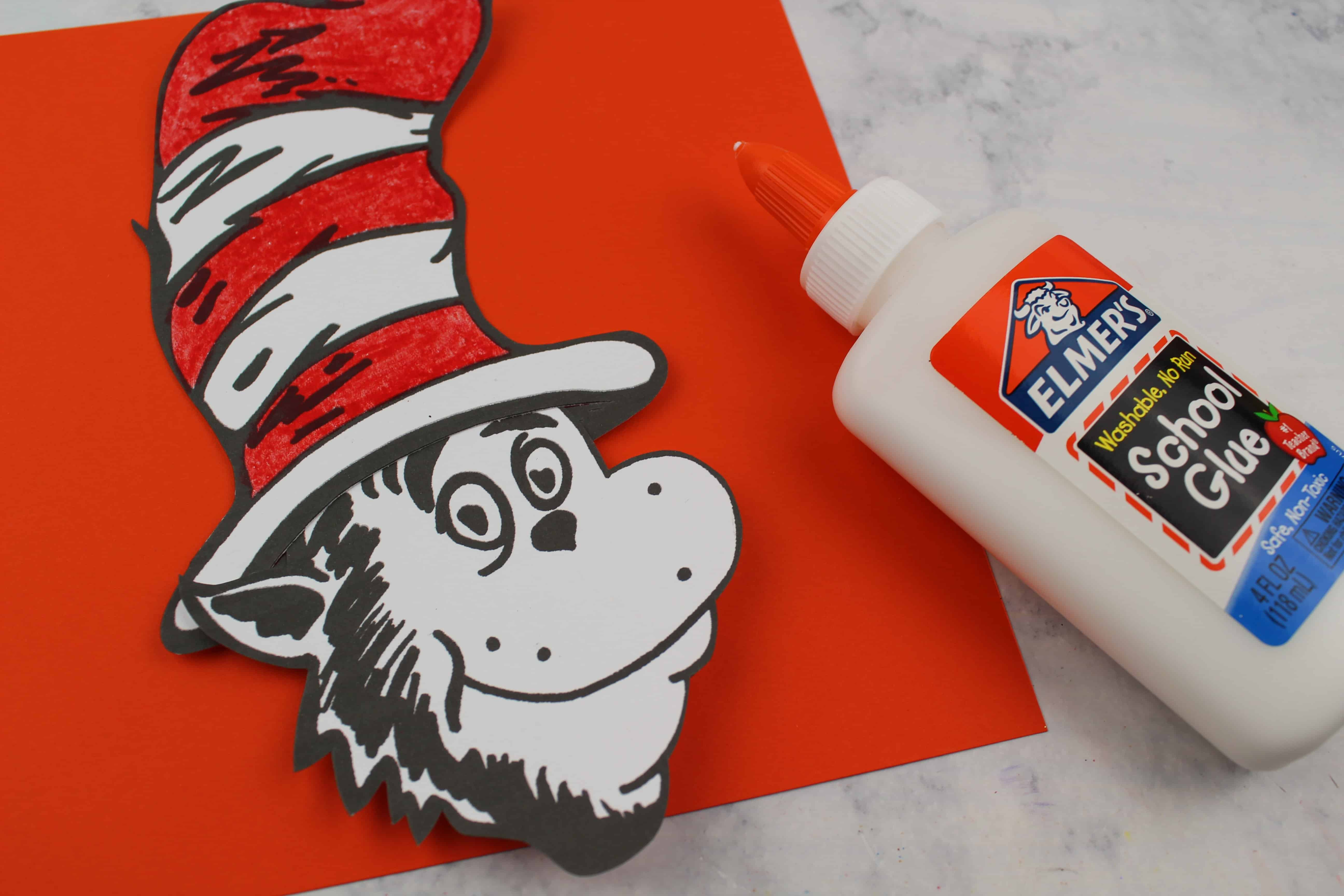 glue the cat in the hat by dr seuss