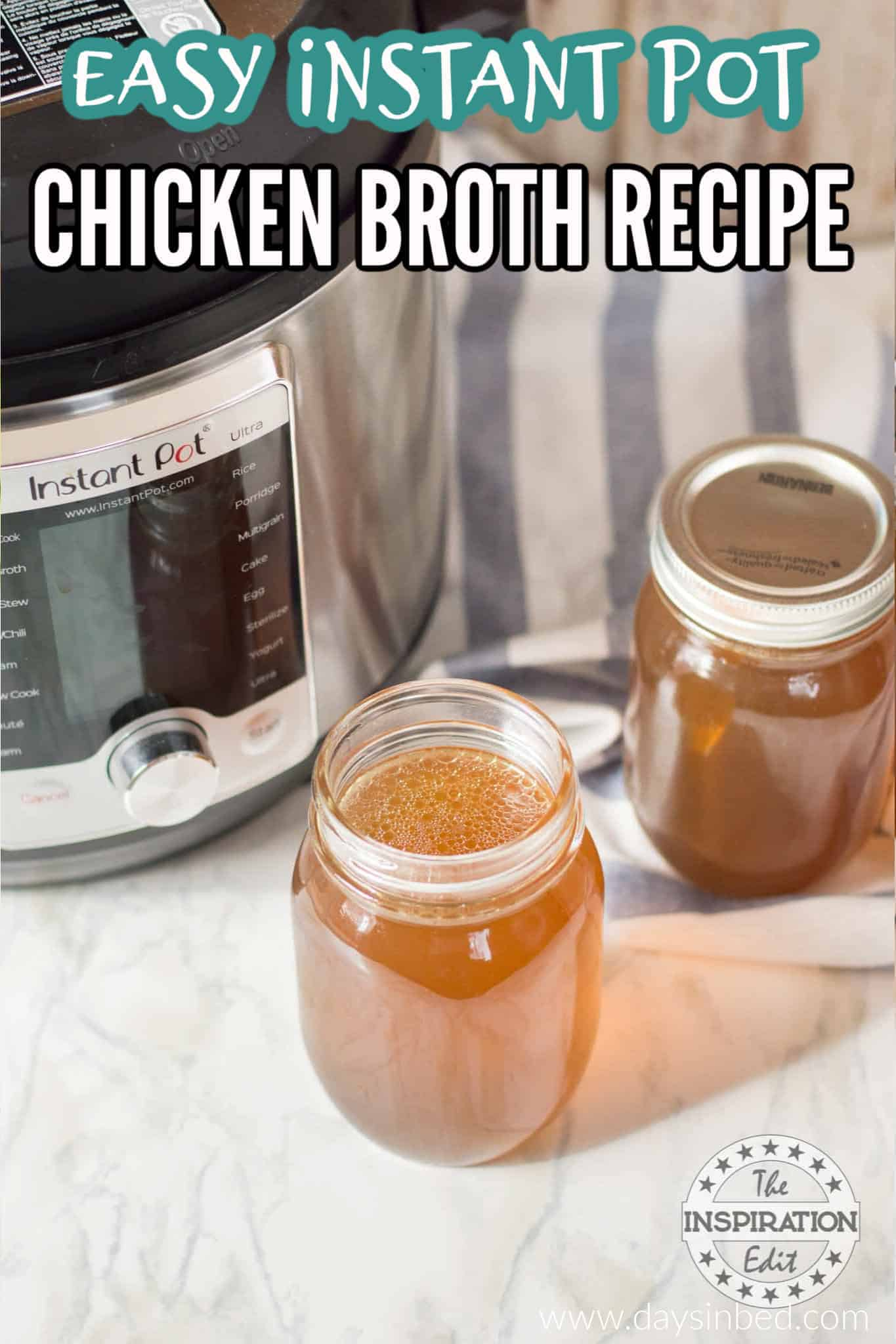 instant pot chicken broth recipe