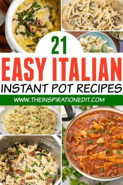 easy italian instant pot recipes