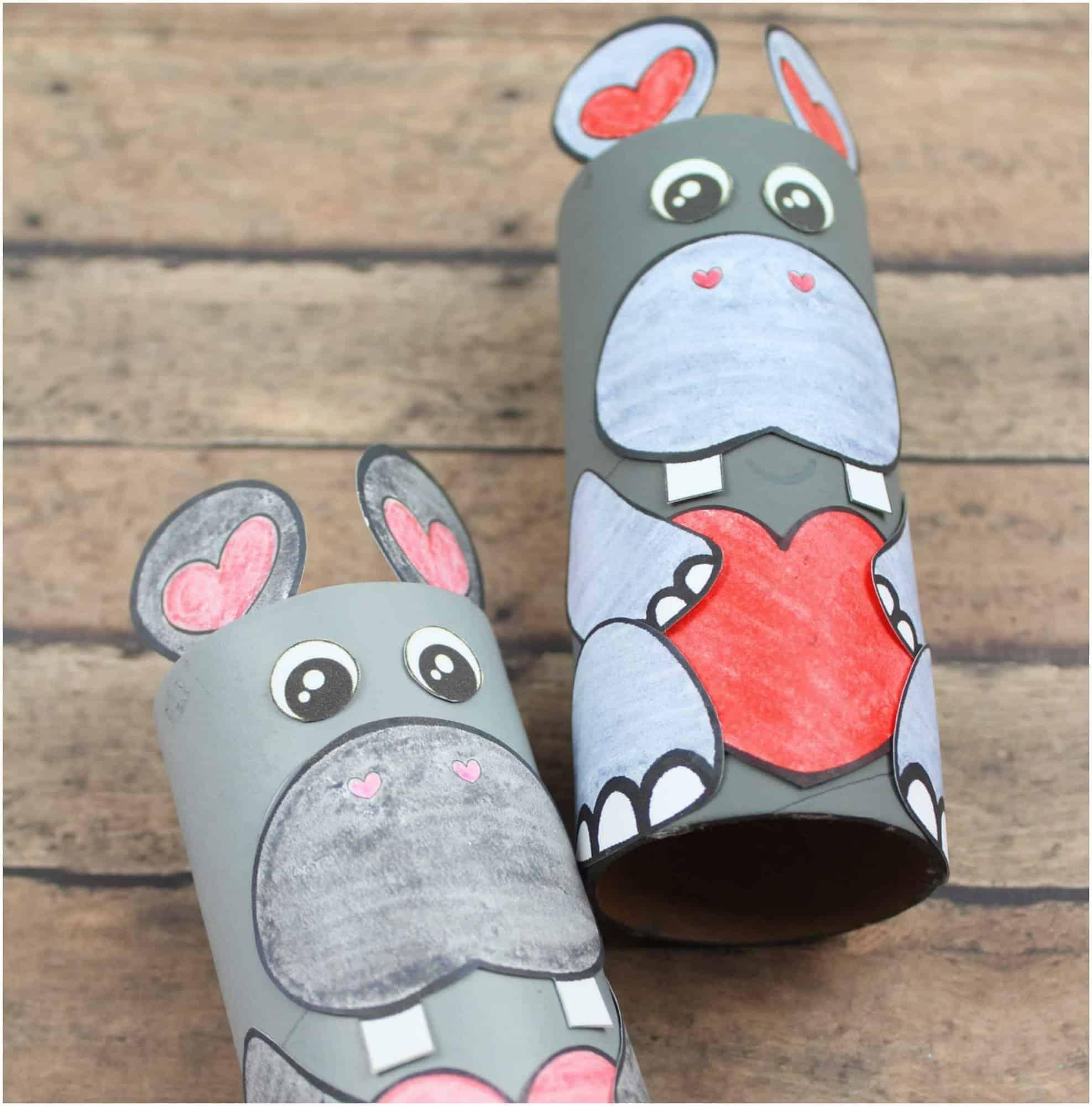 toilet tube hippo