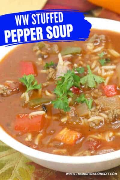 weight watchers stuffed pepper soup