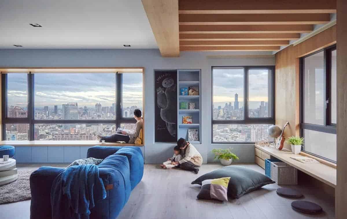 Family-friendly interior design
