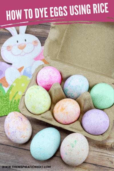 dye eggs using rice (1)