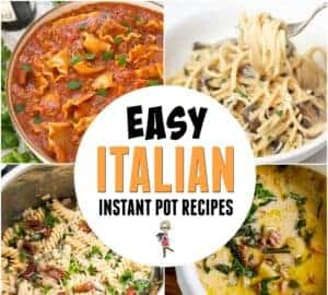 easy italian instant pot recipes