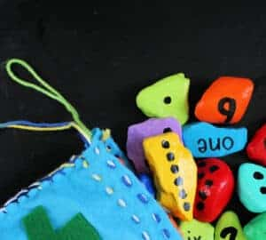 number rocks for preschool