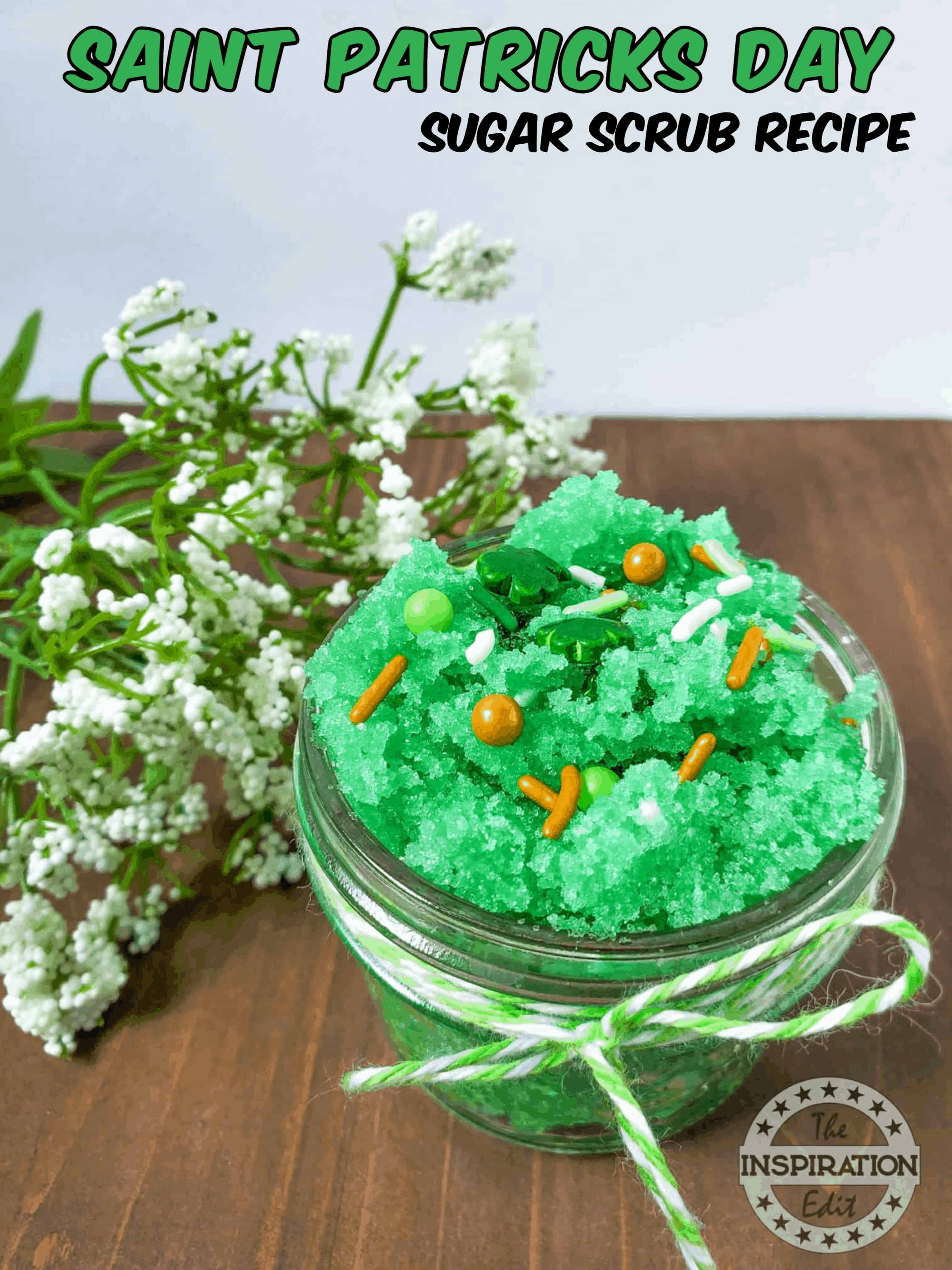 Saint Patrick's Day sugar scrub
