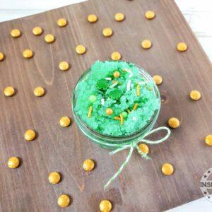 how to make green sugar scrub recipe