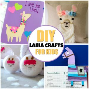 DIY LAMA CRAFTS