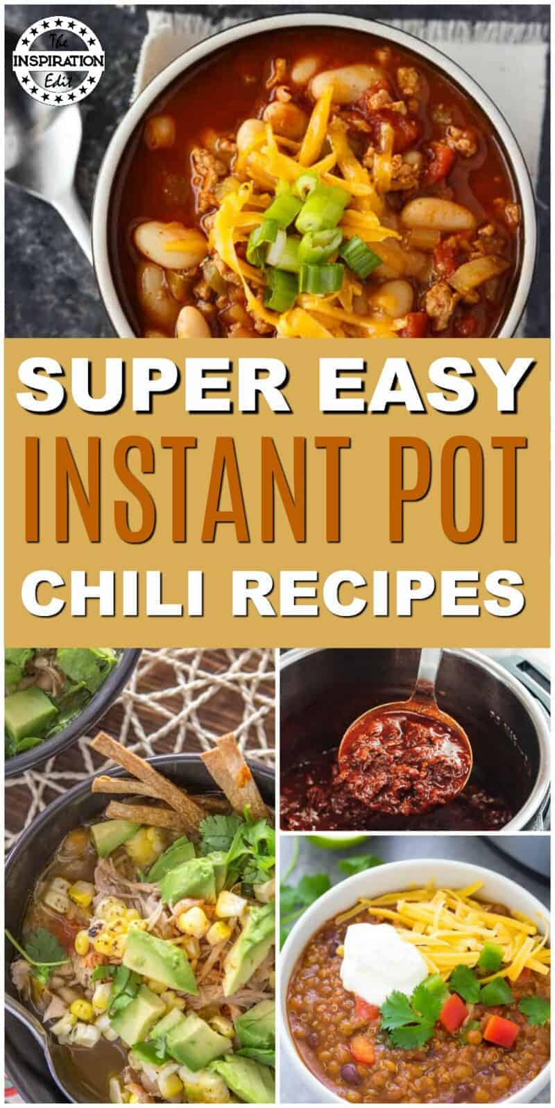easy instant pot chili recipes