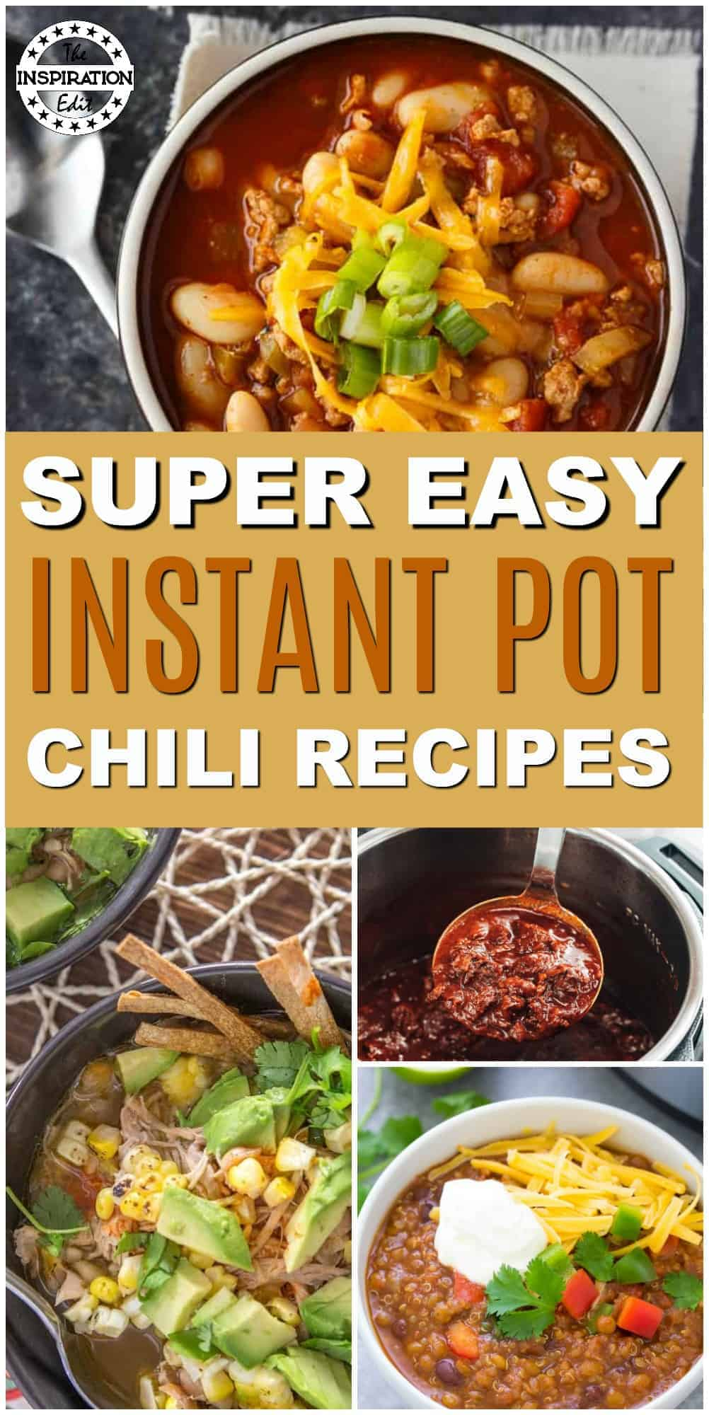 Easy Instant Pot Chili Recipes The Inspiration Edit