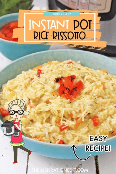 instant pot rice rissotto