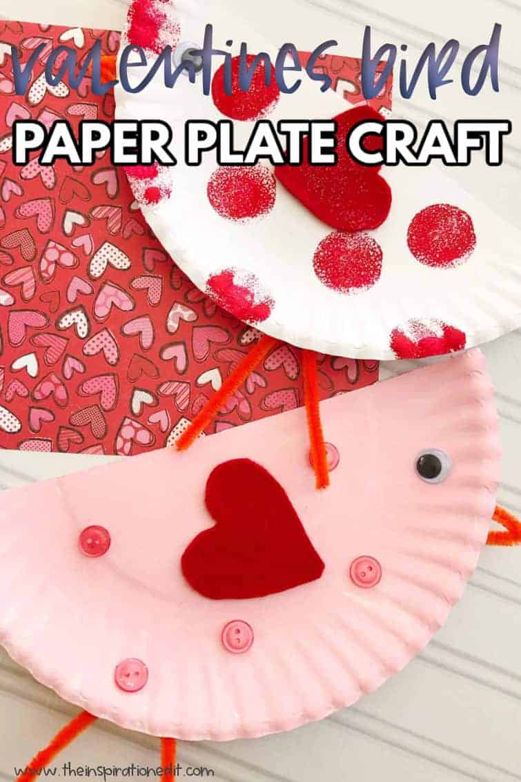valentines bird craft