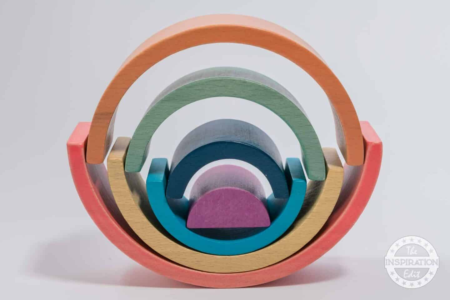 Tickit Rainbow Arches Stacking Eco Toy